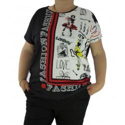 2686a6d9d87 Дамски блузи къс ръкав - 96 артикула в Eveich.com
