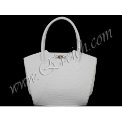 дамска чанта бял цвят -CH 036BN