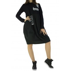 Дамска спортно - елегантна рокля 1225