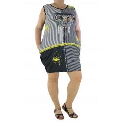 Дамска рокля / туника 1391 - Макси размер