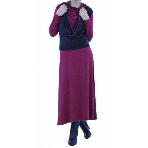 Дамска рокля 2в1 5259