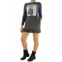 Дамска къса рокля / туника 735