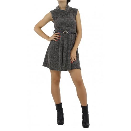 Дамска рокля без ръкав P-410B