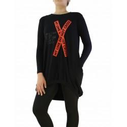 Дамска асиметрична рокля / туника 10210