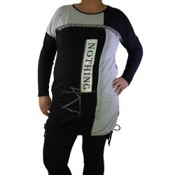 Дамска елегантна туника / блуза 19-115 - Макси