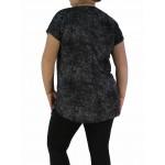 Дамска блуза къс ръкав / туника 1997- Макси размер