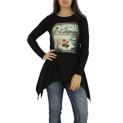 Дамска туника / блуза щампа 480